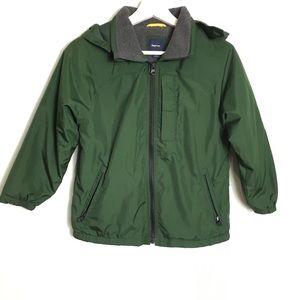 Gap Kids Green Jacket Comfort Sz S (6-7)